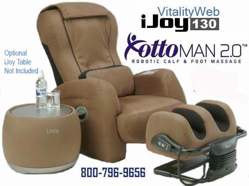 New Ijoy 130 Robotic Human Touch Massage Chair Recliner By Interactive Health S And Factory Refurbished Chairs Are In Stock